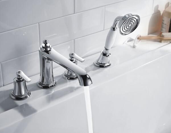 Обустраиваем ванную комнату: как выбрать смеситель для ванной с душем