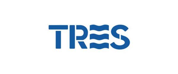 Логотип Tres