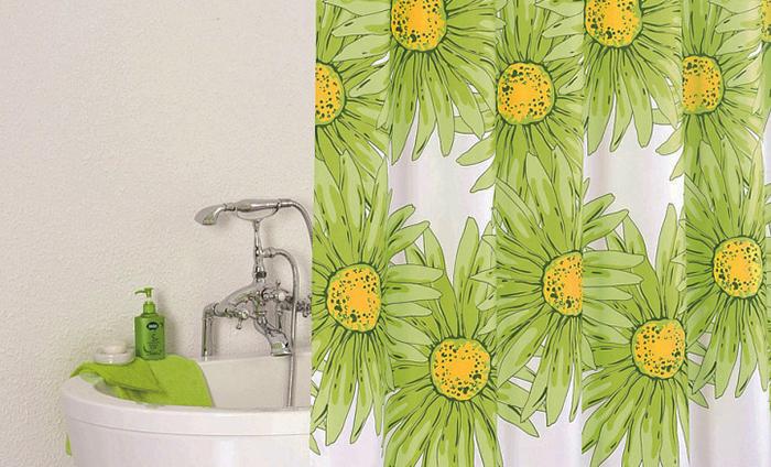 Фото шторки для ванной из ПВХ №2