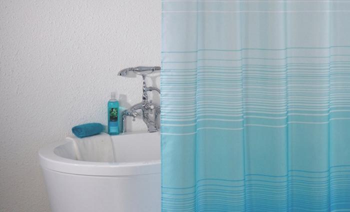 Фото шторки для ванной из ПВХ №3