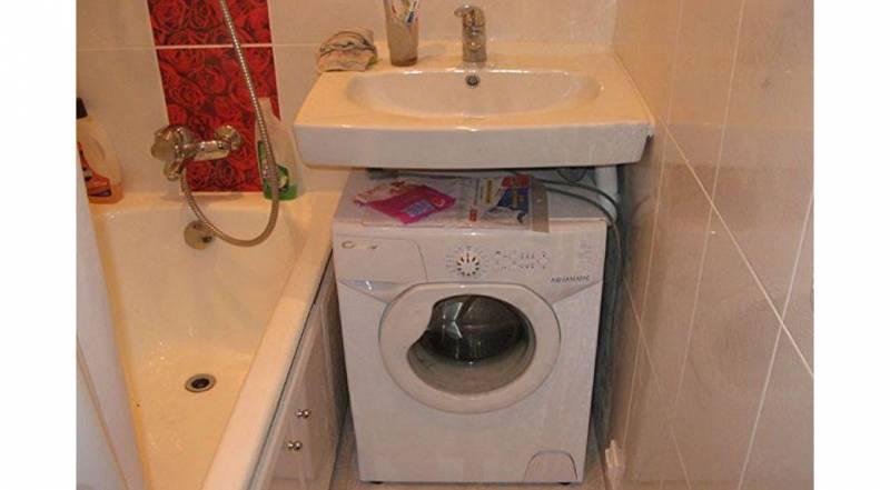 Фото: установка и подключение стиральной машины