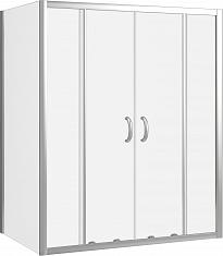 Душевой уголок Good Door Infinity WTW-TD+SP-C-CH 150x80