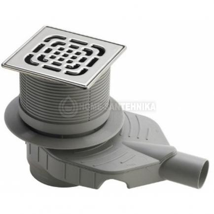 Дизайн-решетка Viega Visign RS3 492304 94 x 94 см матовая нержавеющая сталь Сифон для раковины Ravak X01371 хром
